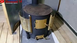 Печь для бани из трубы своими руками. Часть 2. Обзор
