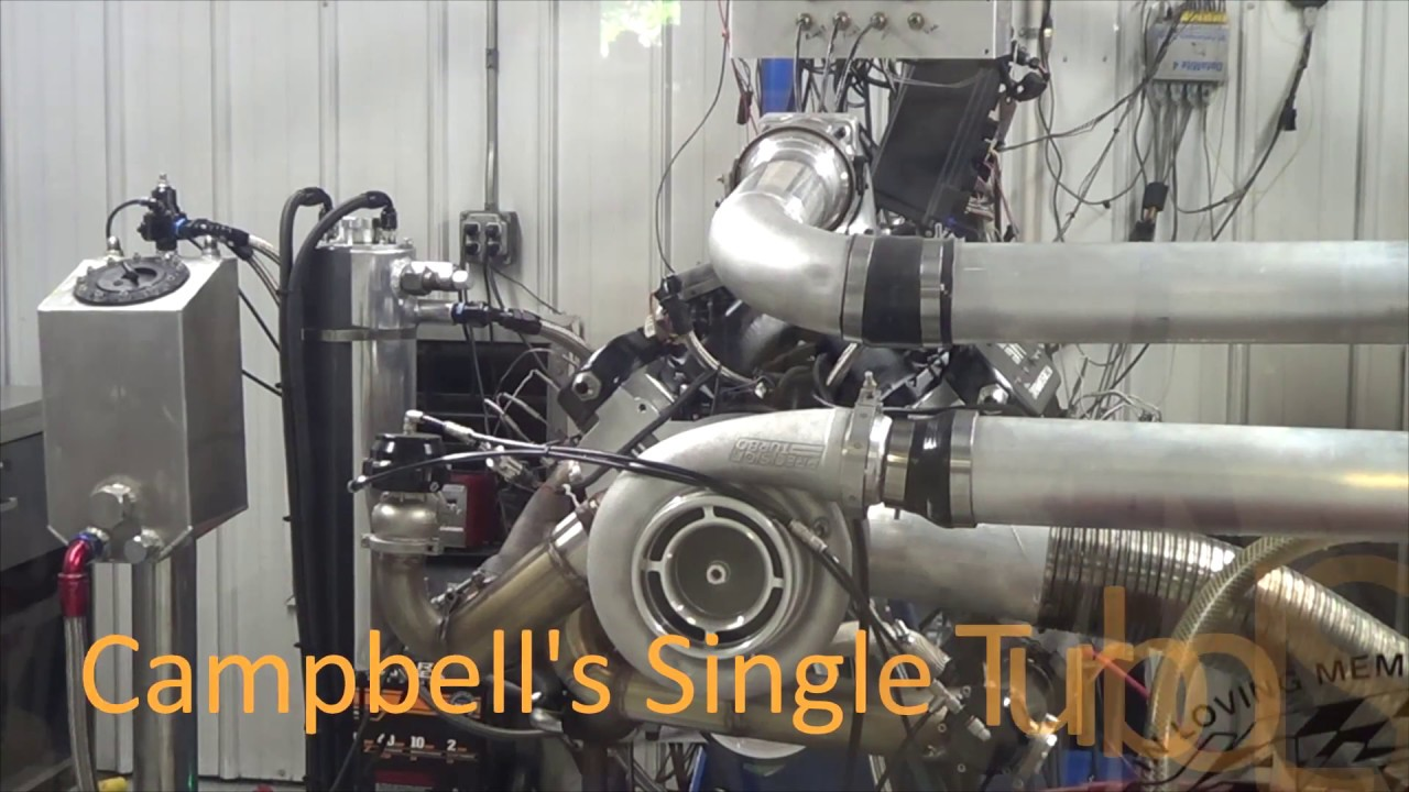 1,900+HP Single Turbo LS Combo!