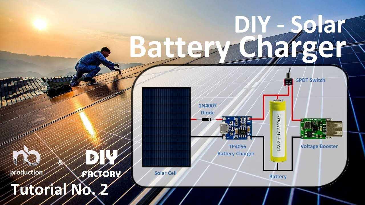 diy solar battery charger arduino maker pro [ 1280 x 720 Pixel ]