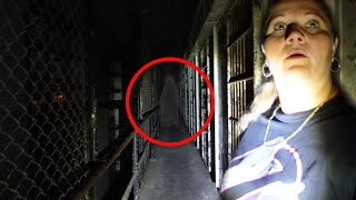 Scratched By Ghost In A Haunted Prison