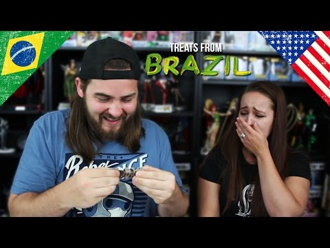 Americans Taste Test Brazilian Snacks - Try Treats