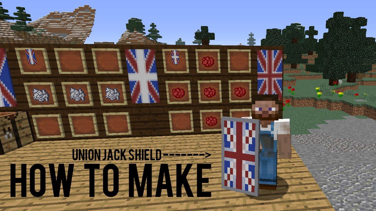 how to make a minecraft sheild