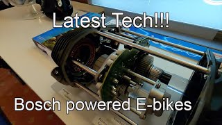 Bosch Ebike Motor Tech Latest MTB 2020 - CORE Bike Show
