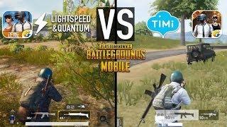 Pubg Mobile Lightspeed Vs Timi Studio  Ultra Graphics Comparison