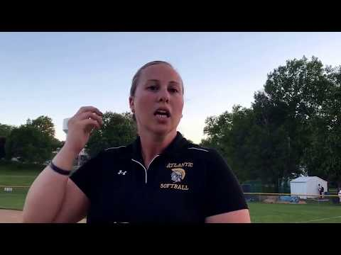 Michelle McLaren inducted into Atlantic Softball Hall of Fame