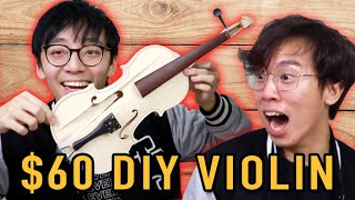 $60 Sacrilegious DIY Violin is a NIGHTMARE