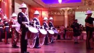 Bagpipes Auld Lang Syne-Royal Marines Band
