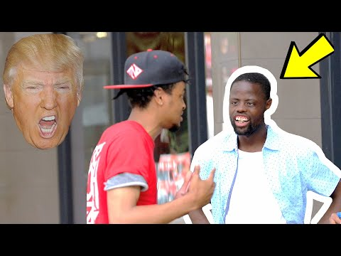 DONALD TRUMP GOT SHOT? (SOCIAL EXPERIMENT)