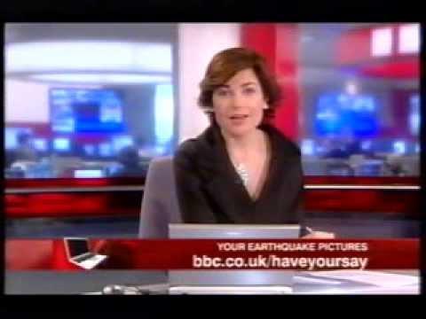 BBC News on Market Rasen Earthquake of 27th February 2008