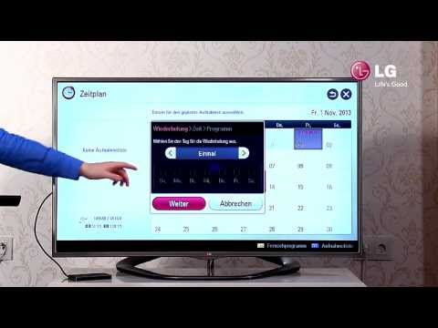 LG LED Smart TV - 7 USB-Recording / Aufnehmen mit dem TV