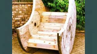 Pallet benches. Pallet tables, pallets and old if you