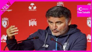 LOSC – Rennes (3-1) : Galtier analyse le tournant du match et parle Mercato