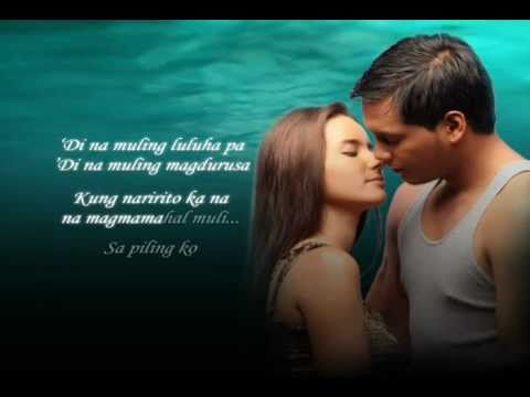 Sa Piling Ko by Julie Anne San Jose (Sisid theme song) Offical Full Lyric Video