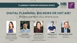 Digital Planning: Big News or Hot Air? – Create Streets online panel discussion