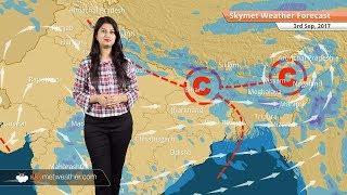 Weather Forecast for Sep 3: Rain in Bengaluru, Chennai, Kolkata, Northeast India