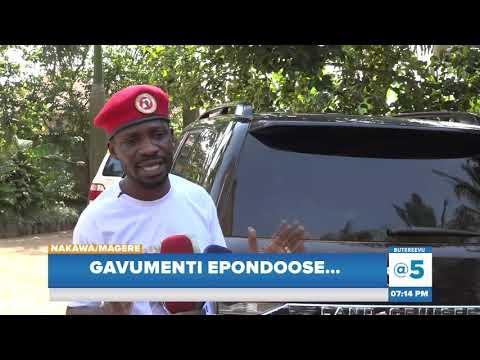 Download Gavumenti Epondoose, Kyagulanyi Emuddizza Emmotoka Ye Nga Tasasudde Wadde Ekikumi