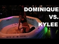 She Can't Keep Her Top On! | Kylee Vs. Dominique | Oil Wrestling | Season 2 | Night 4