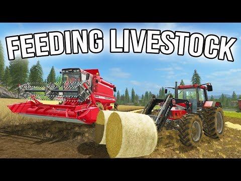 FARMING SIMULATOR 2017 | FARMING FOR THE FIRST TIME | FEEDING LIVESTOCK | MULTIPLAYER