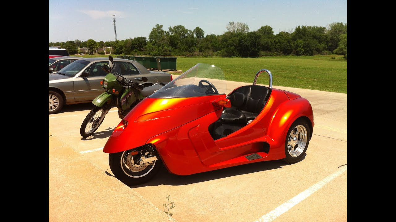 A trike is not a motorcycle Unless it has handlebars