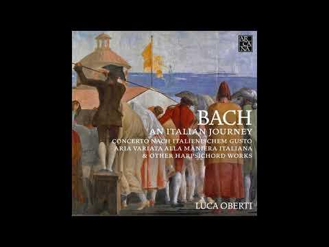 J.S. BACH // Concerto in D Minor, BWV 974: III. Presto, by Luca Oberti