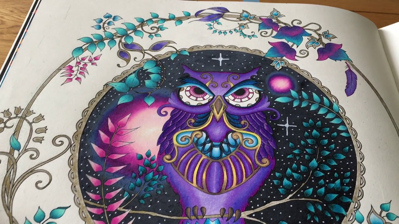 Completed Colouring Book Pictures Part 25