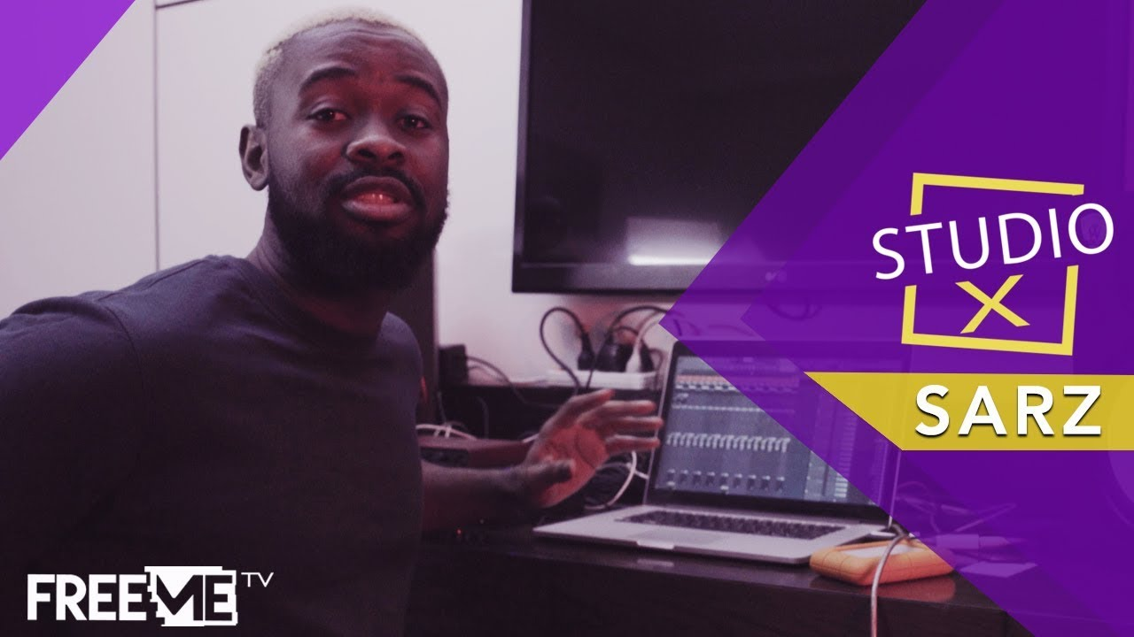 Download (Sarz - Get Up) Studio X: The Making of Get Up by Sarz || FreeMe TV
