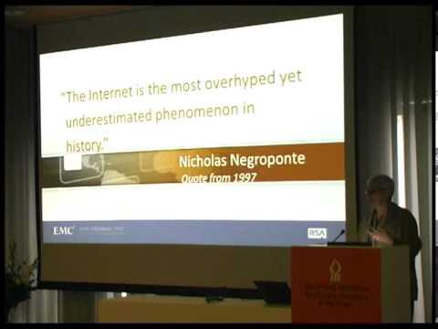 "EMC Corporation Keynote Talk: ""Domain Experts Shift"""