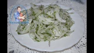 Как вкусно замариновать лук к шашлыку с уксусом