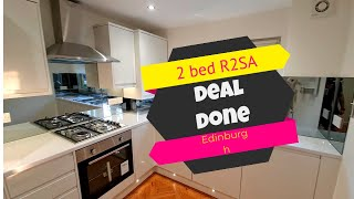 Deal Done with Jozef Toth - 2 bed R2SA - Edinburgh