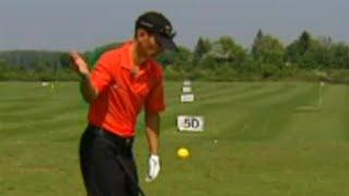 Golf Training Schwung: Körperrotation im Schwung