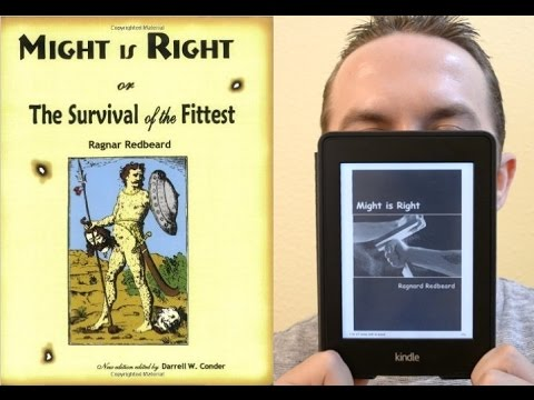 Might is Right: The Survival of the Fittest - Ragnar Redbeard