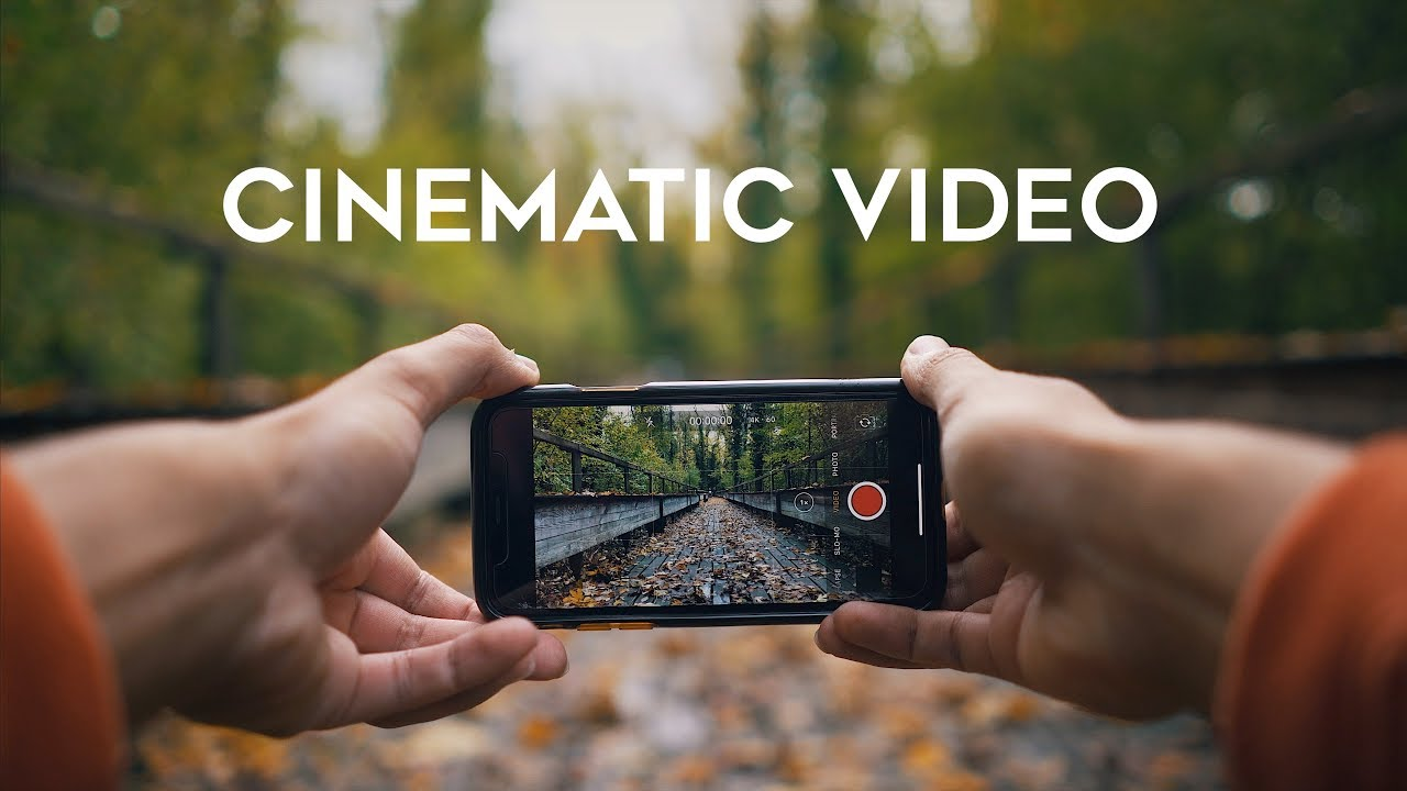 How to Shoot CINEMATIC VIDEO with your iPhone