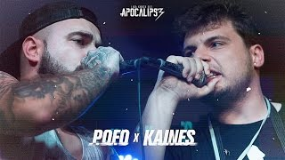 Liga Knock Out Apresenta: Pofo vs Kaines (Apocalipse 3)