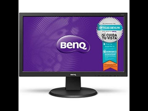 UNBOXING MONITOR BENQ DL2020 19.5