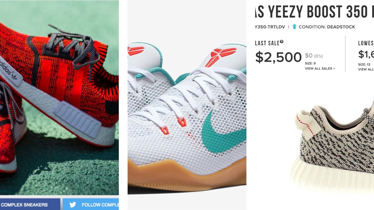 """NMDs Worth $2000, Kyrie 2 """"Summer pack"""" Nike Drops the ROSHE 2, Kobe, KD, and more on Today in Sneak"""