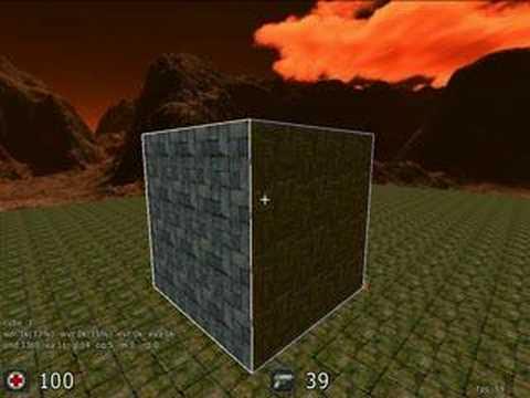 De] cube2: sauberbraten texturing editing tutorial part 2.