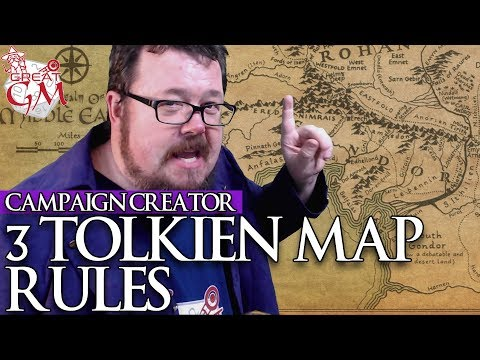 3 Tolkien Map Rules You Should Know - Campaign Creator #27