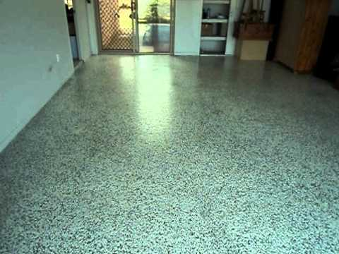 The finished product seamless garage floor steam clean for Steam clean garage floor