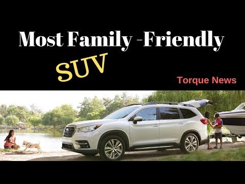 2019 Subaru Ascent, Forester, and Outback Are The Most Family Friendly SUVs in America
