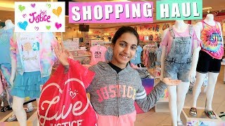 Justice Shopping Spree - VLOG
