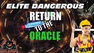 Elite: Dangerous - The Return to the Oracle Station - Repairs Underway !