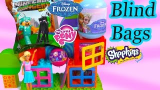 MLP Squishy POPS Shopkins Season 2 Disney Frozen Blind Bag Surprise My Little Pony Minecraft Video