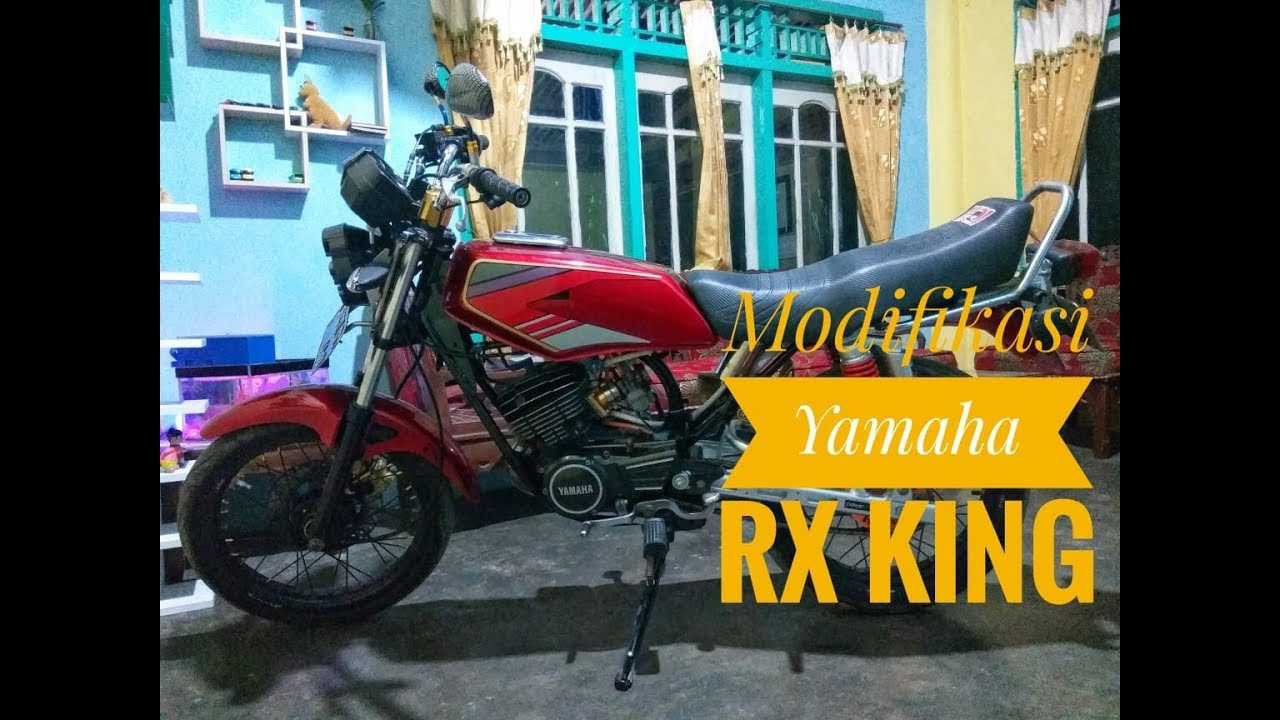 Modifikasi Yamaha RX-King (simple Namun Elegan)