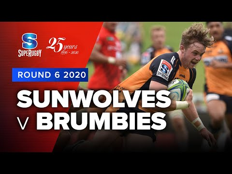 Super Rugby 2020 | Sunwolves v Brumbies - Rd 6 Highlights