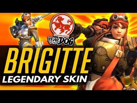 Overwatch | NEW BRIGITTE LEGENDARY SKIN + More News (Roundup) thumbnail