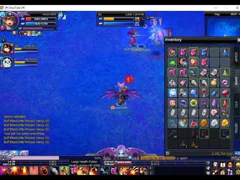 Nostale UK 1player vs water raid 10-12-2017