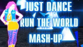 Just Dance -  Beyoncé Run The World (girls) (FANMADE MASHUP) | feat. Raul Pașcalău.