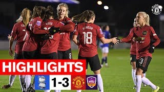 Women's Highlights | Birmingham 1-3 Manchester United | FA WSL Continental Cup