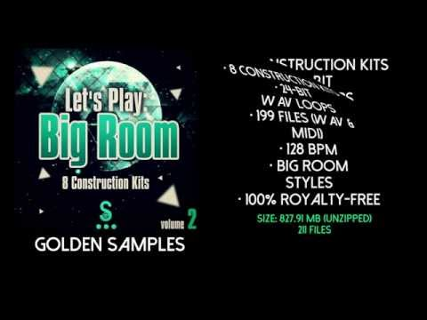 Big Room Sample Pack WAV @ MIDI