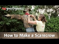 How to Make a Scarecrow - Step By Step Craft Project